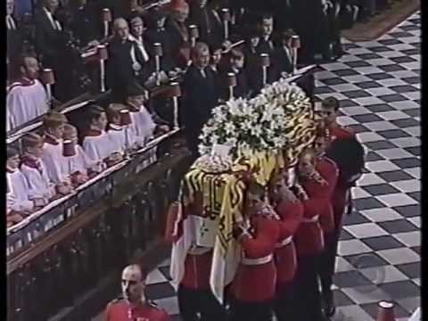 Diana Funeral: Tavener 'Song For Athene', Chorale Recessional, No Commentary