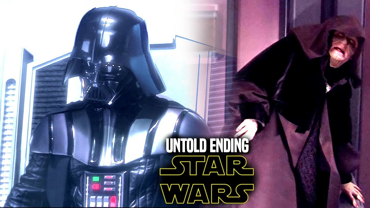 Star Wars Shocking Untold Ending For Revenge Of The Sith Vader Palpatine Youtube