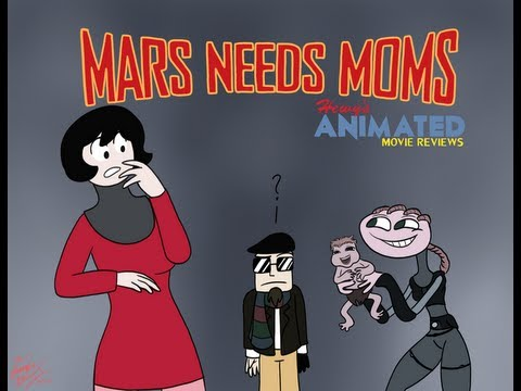 Hewy's Animated Movie Reviews #39 Mars Needs Moms (13+ Content)
