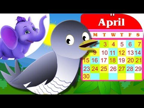 Cuckoo Cuckoo - Nursery Rhyme with Karaoke