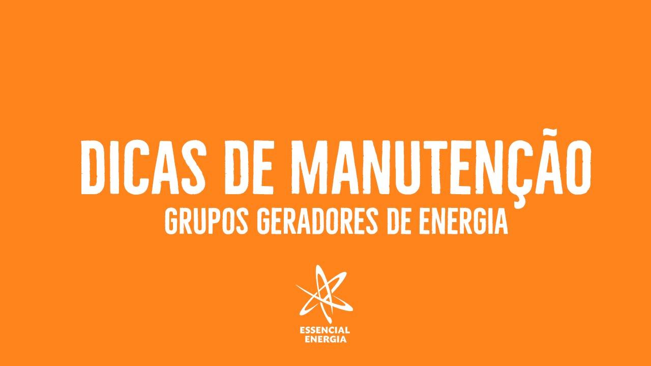 13090f0bb27 Dicas de Manutenção em Grupos Geradores - Essencial Energia - YouTube