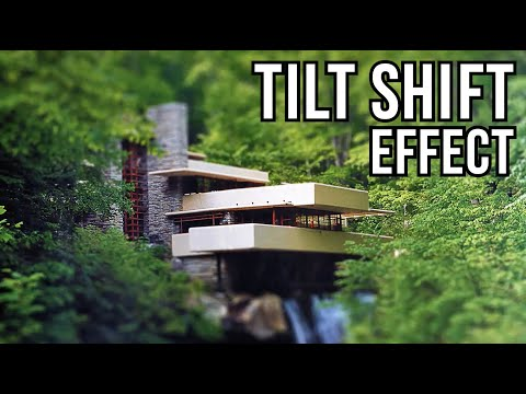 Photoshop Tutorial: TILT-SHIFT Effect. How to Make a Photo look like a MINIATURE TOY MODEL. thumbnail