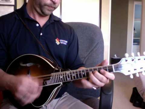how to play foggy mountain breakdown on mandolin