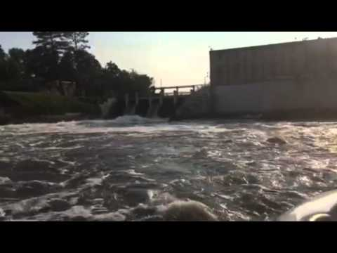 Blandin dam on Mississippi River