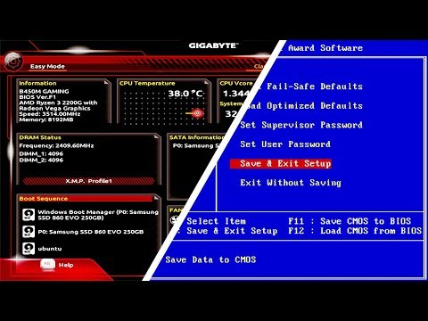 PC BIOS Settings