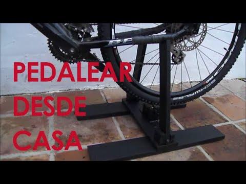 Como Hacer Un Rodillo Casero Para Bicicleta Youtube