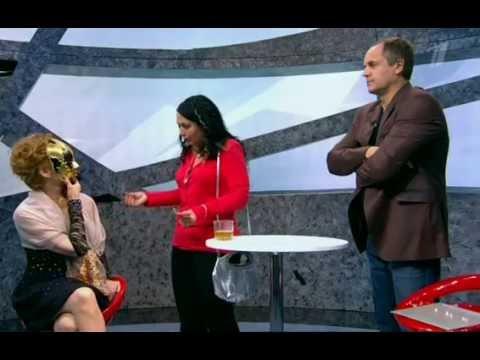 Мирослава Коллавини в шоу Черно-Белое,1 канал,5 серия