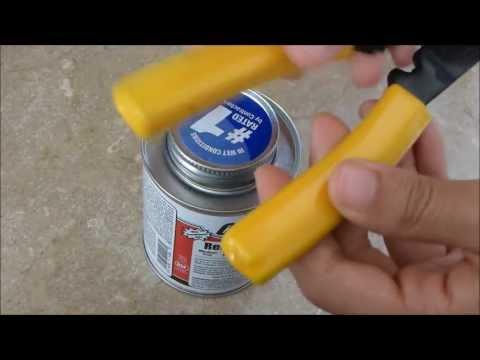 Quick Tip Video-EZ Open Pvc Glue