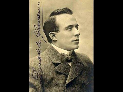 Giovanni Zenatello - Fra poco a me ricovero (Rio, ca. 1907)