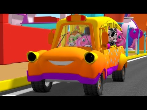 The Wheels On the Bus | Wheels on the Bus Collection | Nursery Rhymes and Kids Songs | Baby Songs