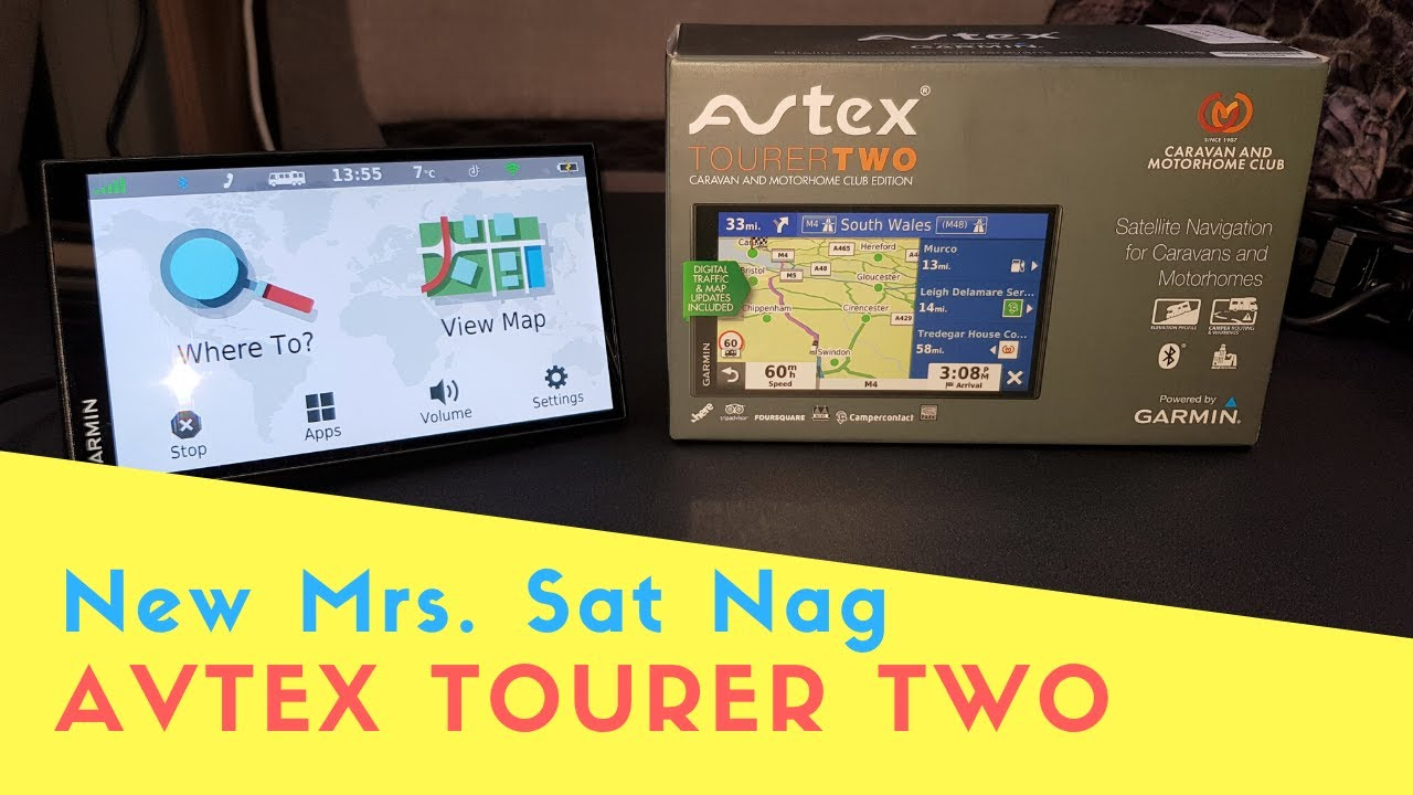 New Avtex Tourer Two Motorhome And Caravan Satellite Navigation   Product Reviews