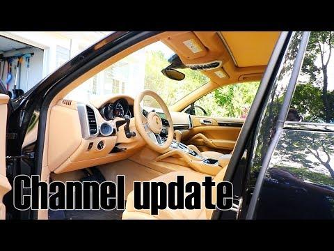 Channel update - 2017 Porsche Cayenne