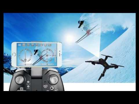 MKT XS809 Foldable Drone FPV wifi Mini Quadcopter VR review