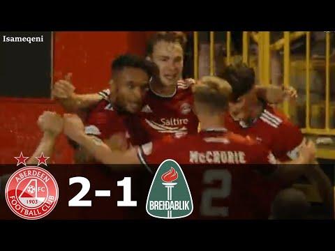 Aberdeen Breidablik Goals And Highlights