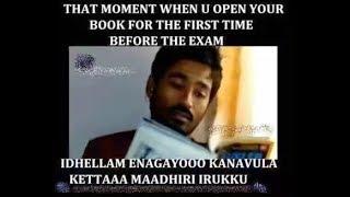 Exam hall comedy   funny whatsapp status   Exam troll KANNADA TAMIL 🤩🤣😂🤣