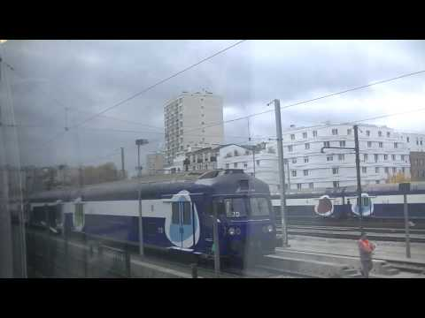 Train trajet de Paris Montparnasse à Versailles- Chantiers
