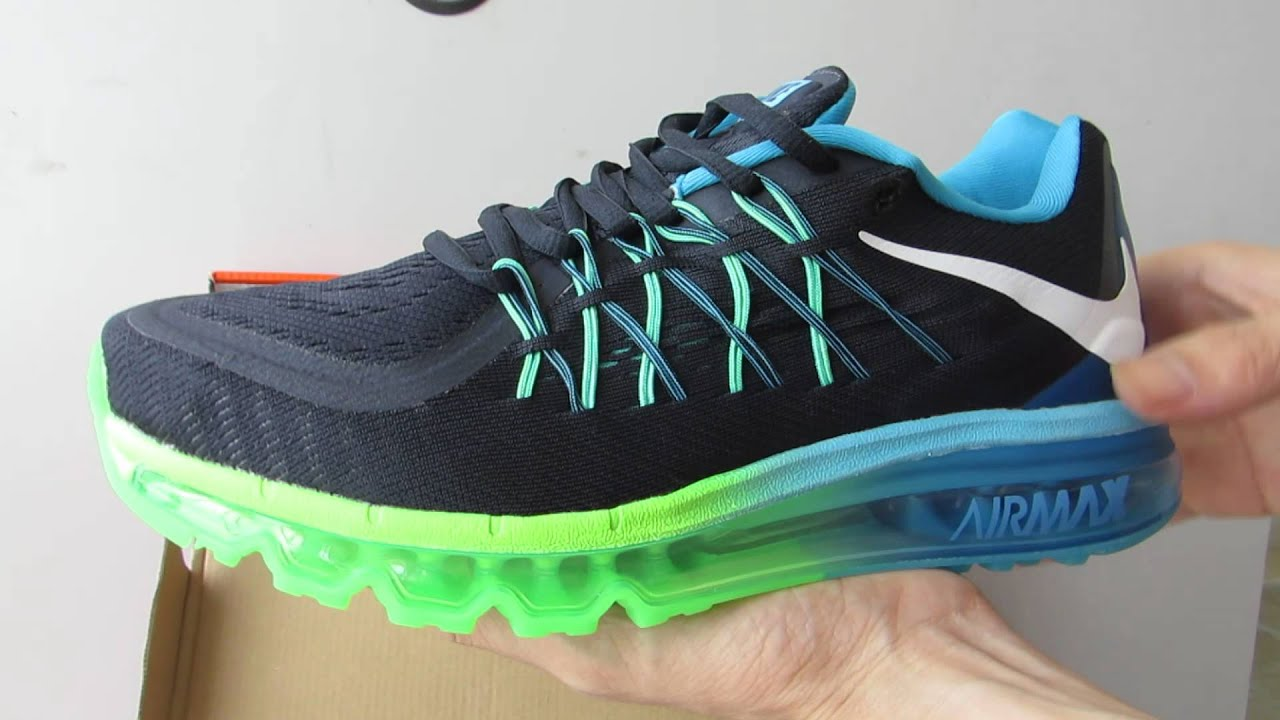 finest selection 30b54 dc3fc ... where to buy nike air max 2015 running shoes navy blue 1c923 ca3ad