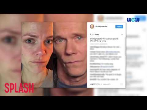 WOWtv -  Brooklyn Decker's Freaking Out Because She Resembles Kevin Bacon