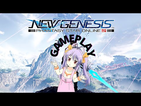 Phantasy Star Online 2: New Genesis ( GAMEPLAY ) 2021