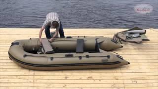 Збірка і розбирання ПВХ човни Badger Duck Line 340