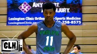 Josh Jackson leads Prolific Prep past Arlington Country Day in Lexington Kentucky