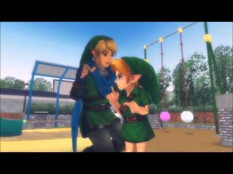 [ MMD ] Legend of Zelda - Young Link Doesn't Like to be Tickled!