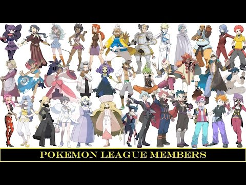 Elite four and champion