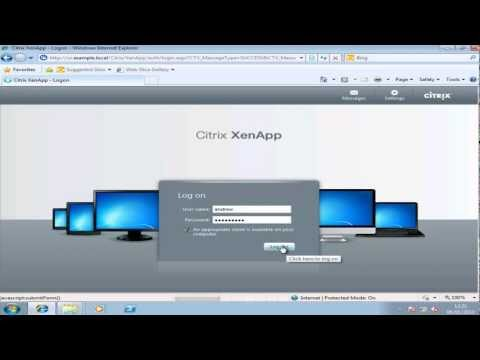 Citrix XenApp 6.5 CCA Lesson 9 Installing the Web Interface Server