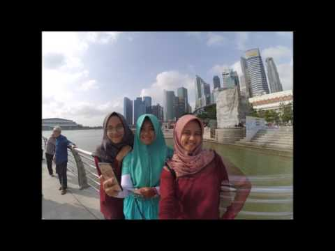 Accounting Students on Company Visit Singapore-Malaysia 2017 (Faculty of Economics UII)