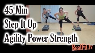 Step It Up: Agility, Power & Strength Step Challenge