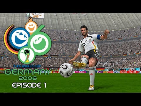 PES 6 - FIFA World Cup 2006: Episode 1!