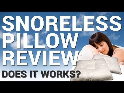 Snoreless Pillow Review: Does This Pillow Really Stops Snoring?