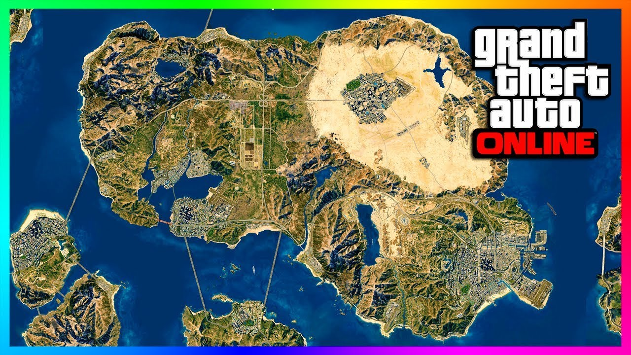 GTA ONLINE MAP EXPANSION. DLC UPDATES IN 2020 & FUTURE CONTENT QNA - RELEASE DATES. VEHICLES & MORE! - YouTube