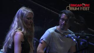 Download Rafael Sotomayor and Kate Stone - Full Live Concert in Singapore Drum Fest 2016