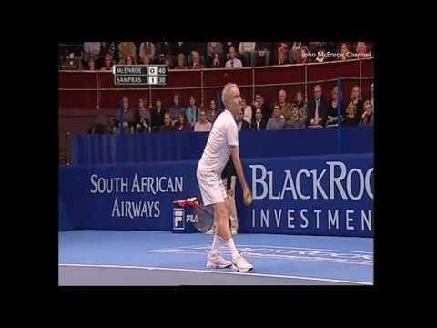 Pete Sampras vs McEnroe -  Black Rock
