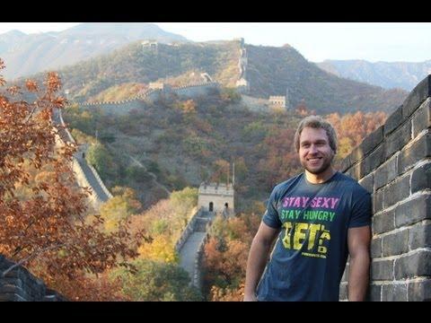 VISITING THE GREAT WALL OF CHINA!!!