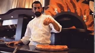 Oven Baked Pizza at Andiamo! in Grand Hyatt Dubai