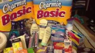CVS 12/30-1/5 $3.40 OOP for $180.00 worth of stuff! Thumbnail