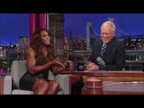 Serena Williams - David Letterman - Interview
