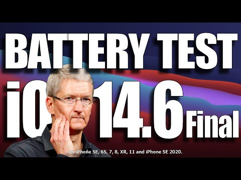 iOS 14.6 Final Battery Test video : Terrible results.