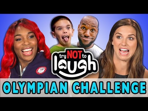 Thumbnail: Try to Watch This Without Laughing or Grinning (ft. Olympians)