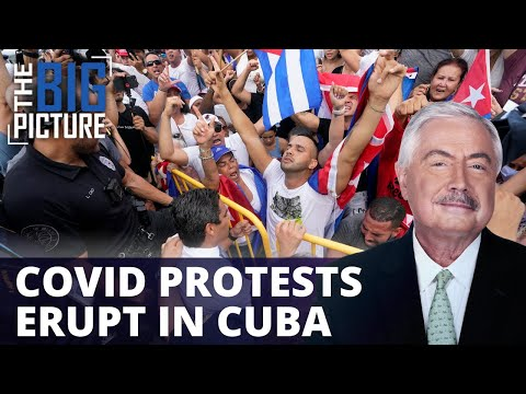 Cuba Erupts in Protest Over Government Virus Response
