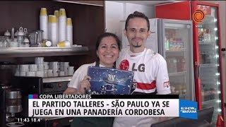 Ella de Sao Paulo y él de Talleres