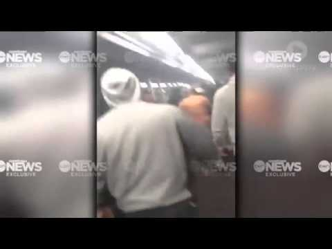 Shocking Vision Of Violent Sydney Brawl