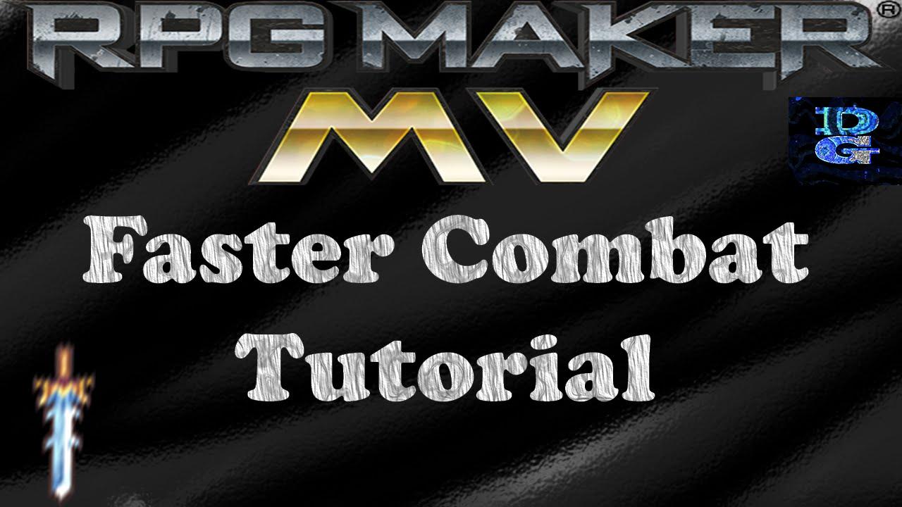 RPG Maker MV Faster Combat Tutorial
