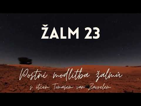 Žalm 23 - postní modlitba