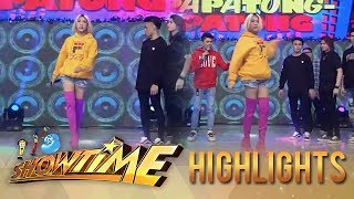 It's Showtime: Vice shows his version of Lava walk