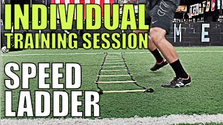 TRAIN LIKE A PRO | 14 Best Speed Ladder Drills | Get Quick Fast