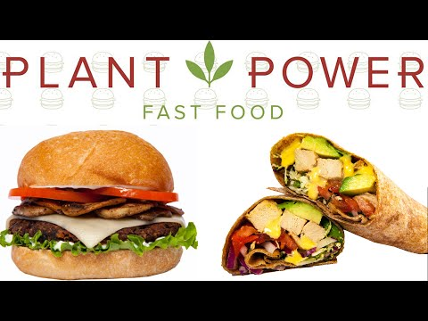 Review of the First Vegan Fast Food Restaraunt! - Plant Power Fast Food San Diego