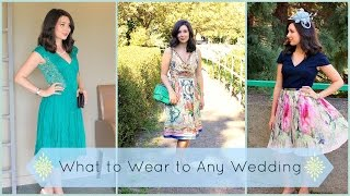 What to Wear to Any Wedding | Lookbook